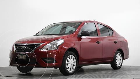 Nissan Versa Drive Aut usado (2019) color Rojo precio $151,396