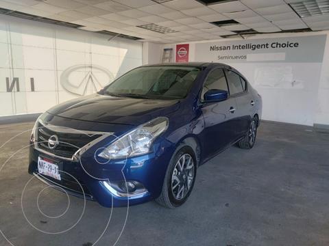 Nissan Versa Advance usado (2019) color Azul Oscuro precio $235,000