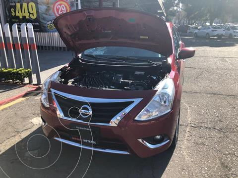 Nissan Versa Advance Aut usado (2016) color Rojo precio $125,000