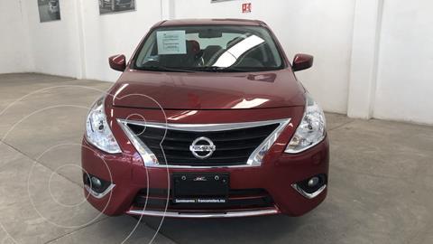 Nissan Versa Advance usado (2018) color Rojo financiado en mensualidades(enganche $50,807 mensualidades desde $3,984)