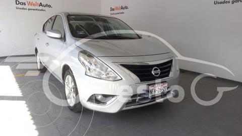 Nissan Versa ADVANCE L4 1.6L AT usado (2018) color Plata precio $199,000