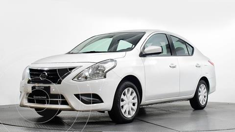 Nissan Versa Sense usado (2018) color Blanco precio $158,000