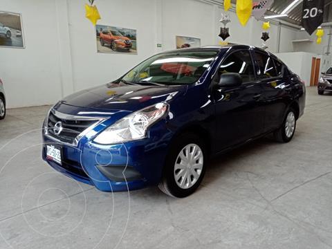 Nissan Versa Drive usado (2020) color Azul precio $185,000
