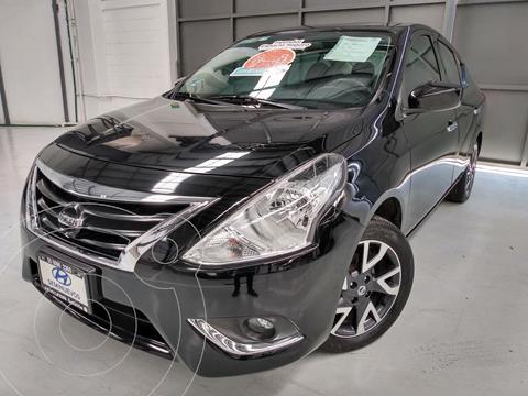 Nissan Versa Advance usado (2019) color Negro precio $219,900