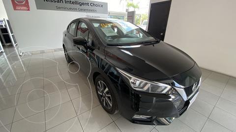 Nissan Versa Advance usado (2020) color Negro precio $280,000