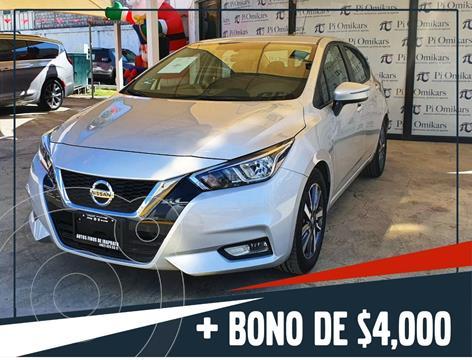 Nissan Versa Advance usado (2020) color Plata Dorado precio $269,000