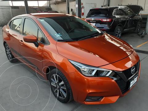 Nissan Versa Advance usado (2020) color Naranja precio $257,000
