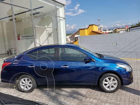 Nissan Versa Sense usado (2019) color Azul precio $229,000