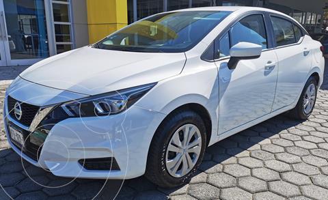 Nissan Versa Sense usado (2020) color Blanco precio $245,000