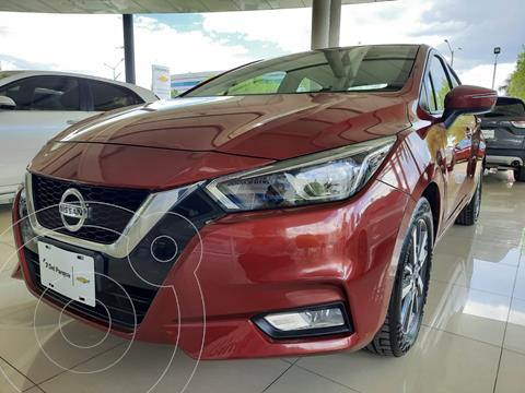 Nissan Versa Advance usado (2020) color Rojo precio $272,000
