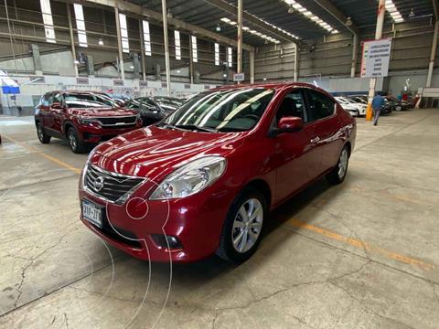 Nissan Versa Exclusive Aut usado (2014) color Rojo precio $139,000
