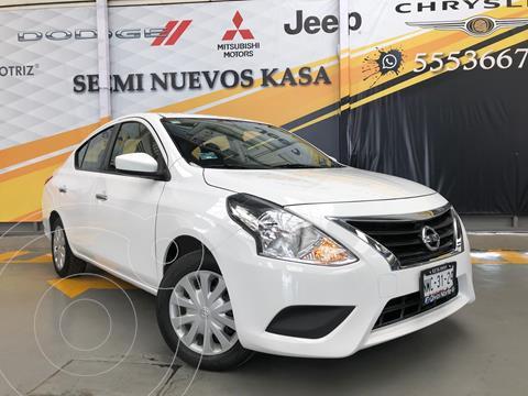 Nissan Versa Sense Aut usado (2018) color Blanco precio $189,000