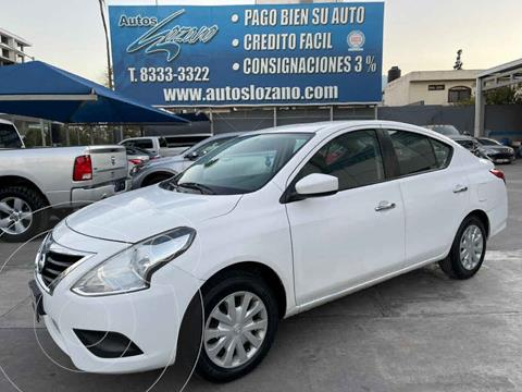 Nissan Versa Sense usado (2017) color Blanco precio $144,900