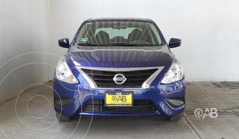 Nissan Versa Sense usado (2019) color Azul precio $198,000