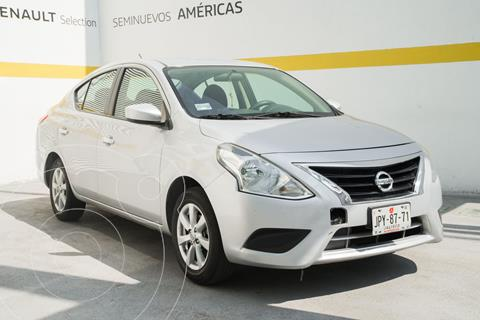 Nissan Versa Sense Aut usado (2019) color Plata Dorado precio $175,000
