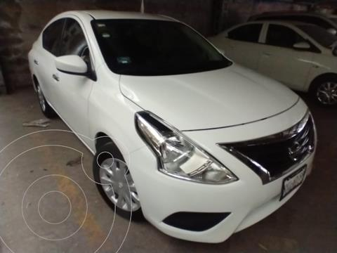 Nissan Versa Sense Aut usado (2018) color Blanco precio $169,000