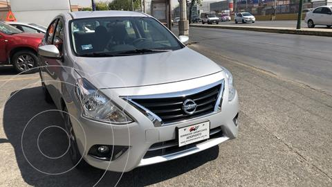 Nissan Versa Advance usado (2019) color Plata financiado en mensualidades(enganche $47,052 mensualidades desde $5,734)