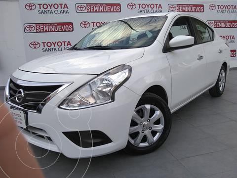 Nissan Versa Sense usado (2018) color Blanco precio $166,000