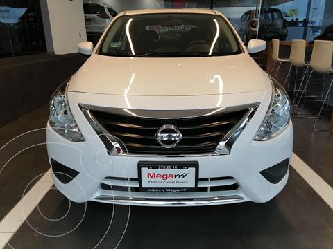 Nissan Versa Sense usado (2019) color Blanco financiado en mensualidades(enganche $99,227 mensualidades desde $3,031)