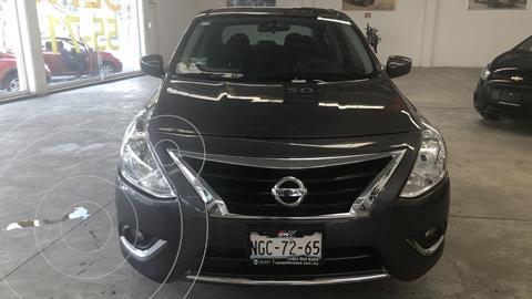 Nissan Versa Advance usado (2018) color Gris Oscuro financiado en mensualidades(enganche $51,678 mensualidades desde $4,070)