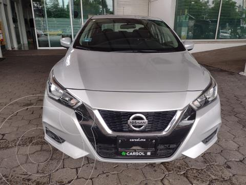 Nissan Versa Sense usado (2020) color Plata Dorado precio $255,000