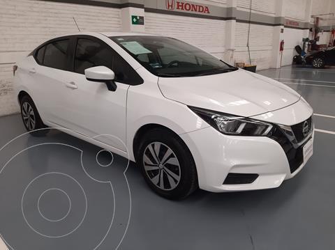 Nissan Versa Sense usado (2020) color Blanco precio $243,000