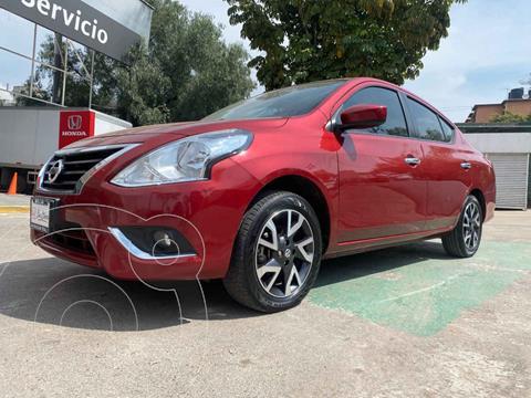 Nissan Versa Advance usado (2019) color Rojo precio $235,000