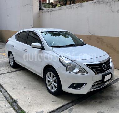Nissan Versa Advance Aut usado (2015) color Blanco precio $155,000