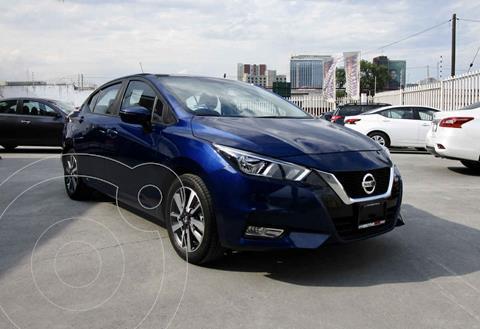 Nissan Versa Advance usado (2020) color Azul precio $258,000