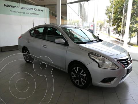 Nissan Versa Advance Aut usado (2019) color Plata precio $225,000