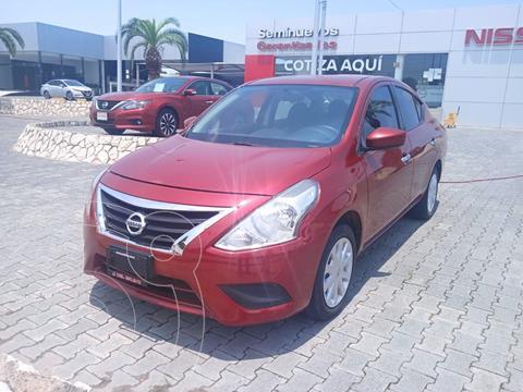Nissan Versa Sense Aut usado (2017) color Rojo precio $179,000
