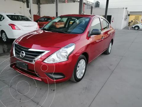 Nissan Versa Drive usado (2018) color Rojo precio $170,000