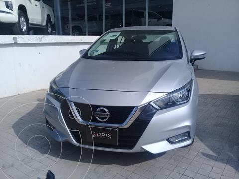 Nissan Versa Advance Aut usado (2020) color Plata precio $275,000