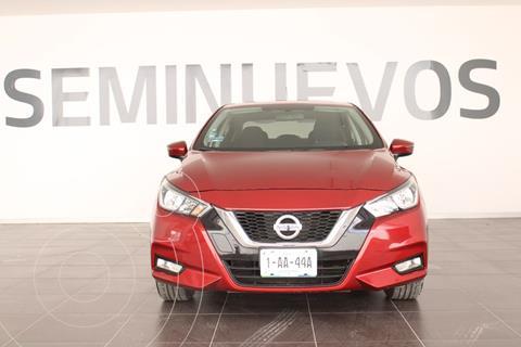 Nissan Versa Advance usado (2020) color Rojo precio $268,900