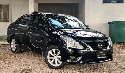 Nissan Versa Advance Aut usado (2017) color Negro precio $185,000