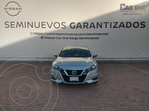 Nissan Versa Sense usado (2020) color Plata precio $229,900
