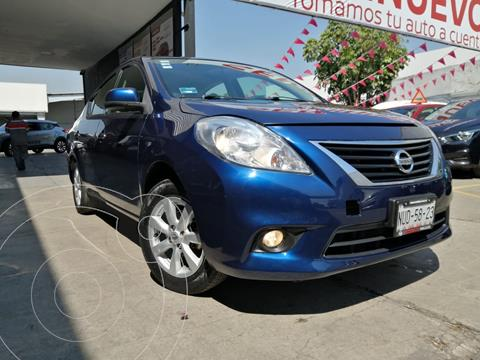 Nissan Versa Advance  usado (2014) color Azul precio $139,800