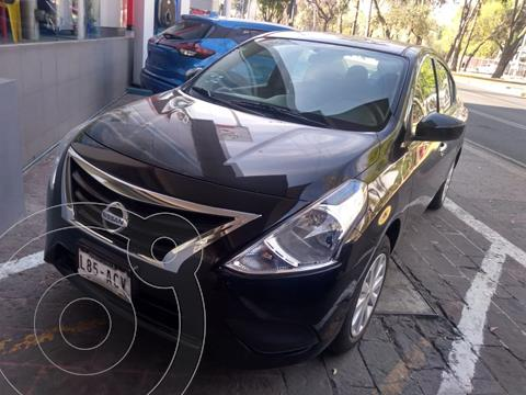 Nissan Versa Sense usado (2015) color Negro precio $135,000