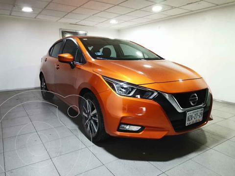 Nissan Versa Advance usado (2020) color Naranja precio $259,000