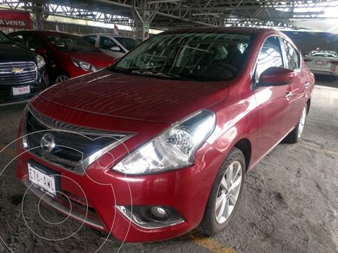 Nissan Versa Advance usado (2018) color Rojo financiado en mensualidades(enganche $40,000 mensualidades desde $4,692)