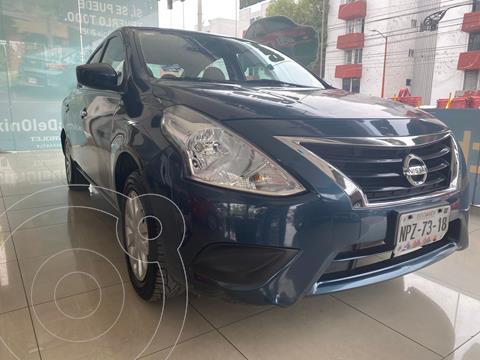 Nissan Versa Sense usado (2017) color Azul Acero precio $134,900