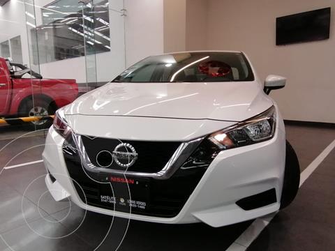 Nissan Versa Sense Aut usado (2020) color Blanco precio $260,000