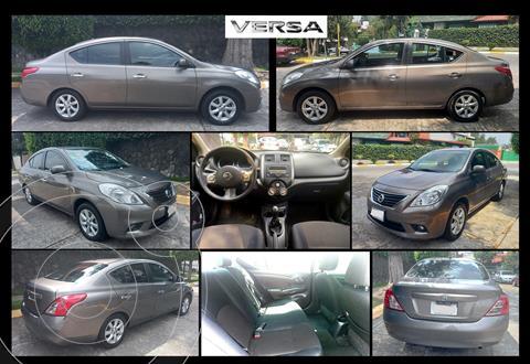 Nissan Versa Advance usado (2012) color Gris precio $95,000