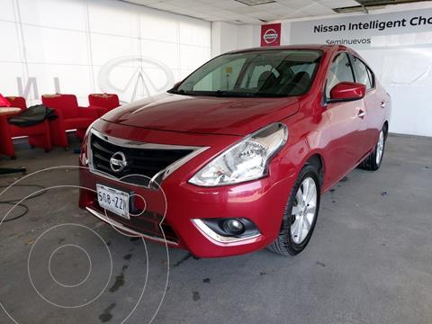 Nissan Versa Advance usado (2016) color Rojo precio $130,000