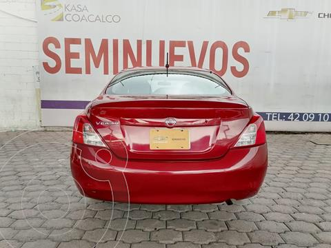 Nissan Versa Exclusive Aut usado (2013) color Rojo precio $154,565