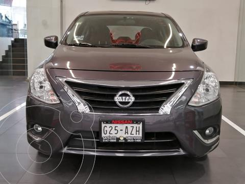 Nissan Versa Advance usado (2015) color Gris precio $130,000