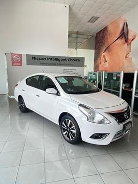 Nissan Versa Exclusive NAVI Aut usado (2019) color Blanco precio $270,000
