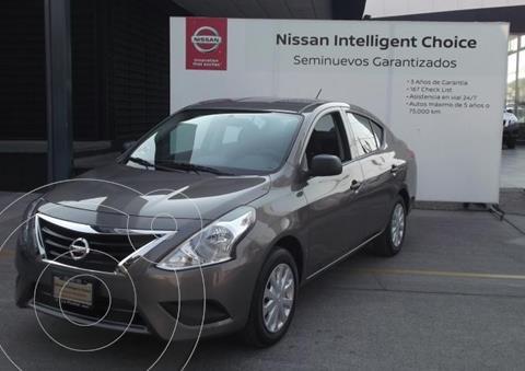 Nissan Versa Drive usado (2020) color Granito precio $215,000