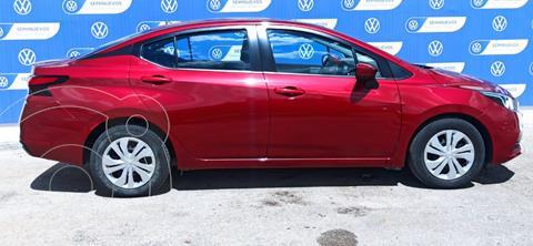 Nissan Versa SENSE MT 1.6L C/A EE BA TM usado (2020) color Rojo precio $245,000