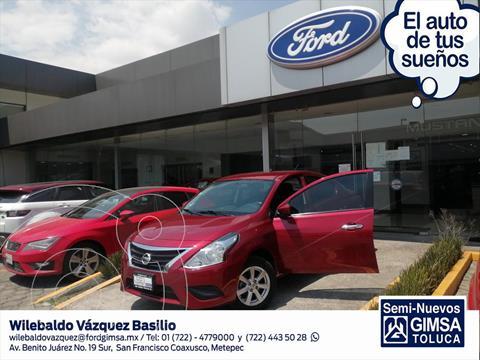 Nissan Versa Sense usado (2019) color Rojo precio $169,000
